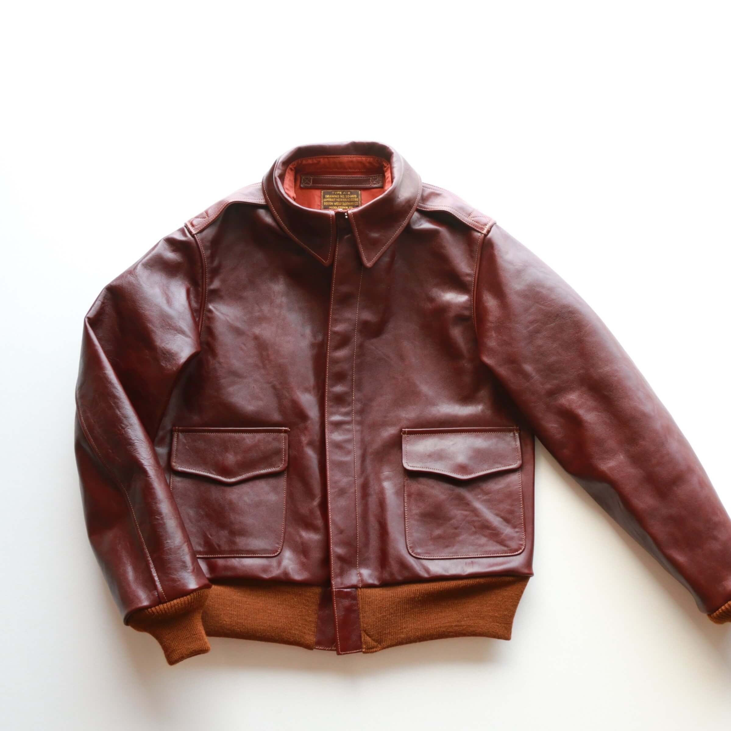 Buzz Rickson's バズリクソンズ Flight Jacket type A-2 Roughwear Clothing Co. A-2 フライトジャケット BR80253