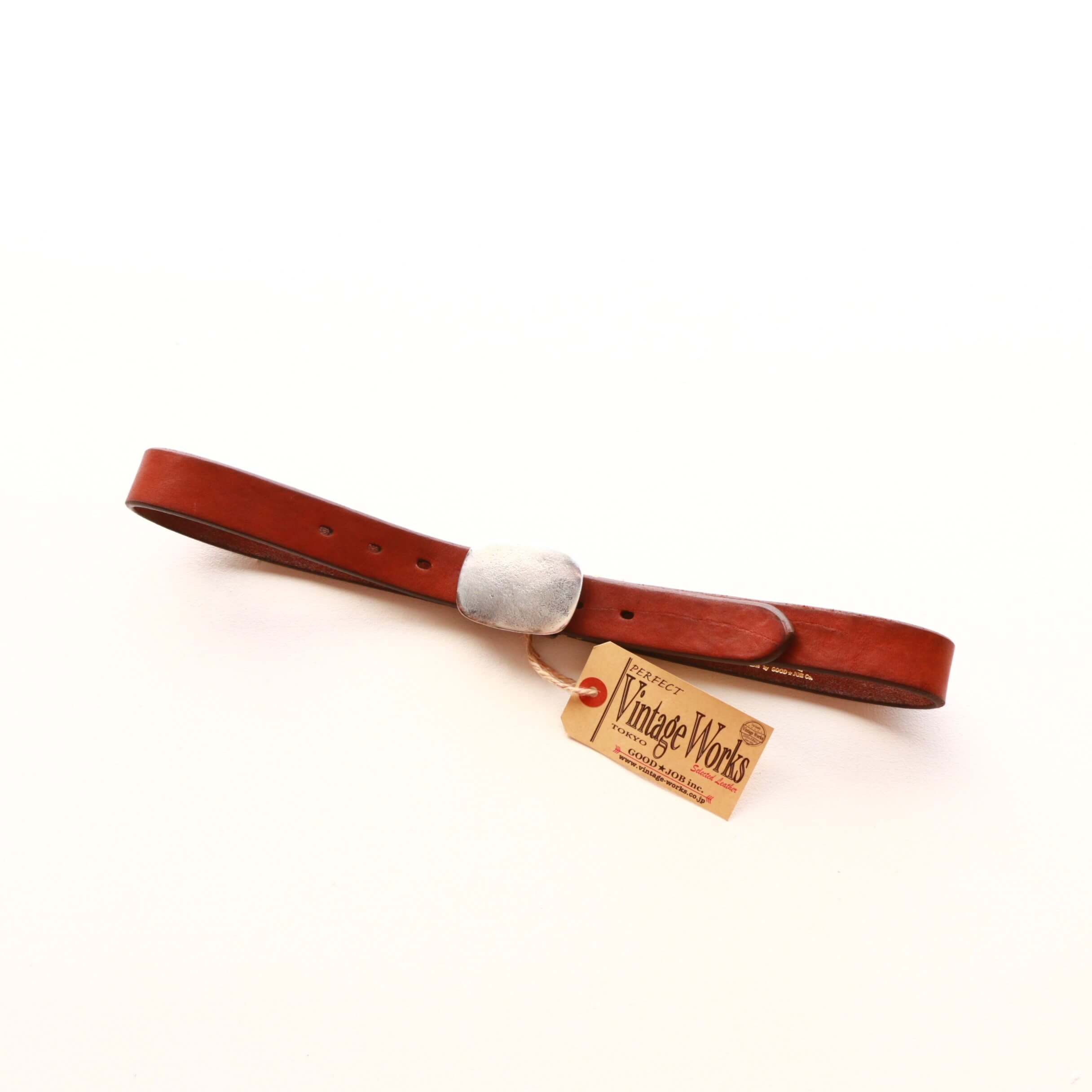 Vintage Works ヴィンテージワークス Leather belt レザーベルト DH5717