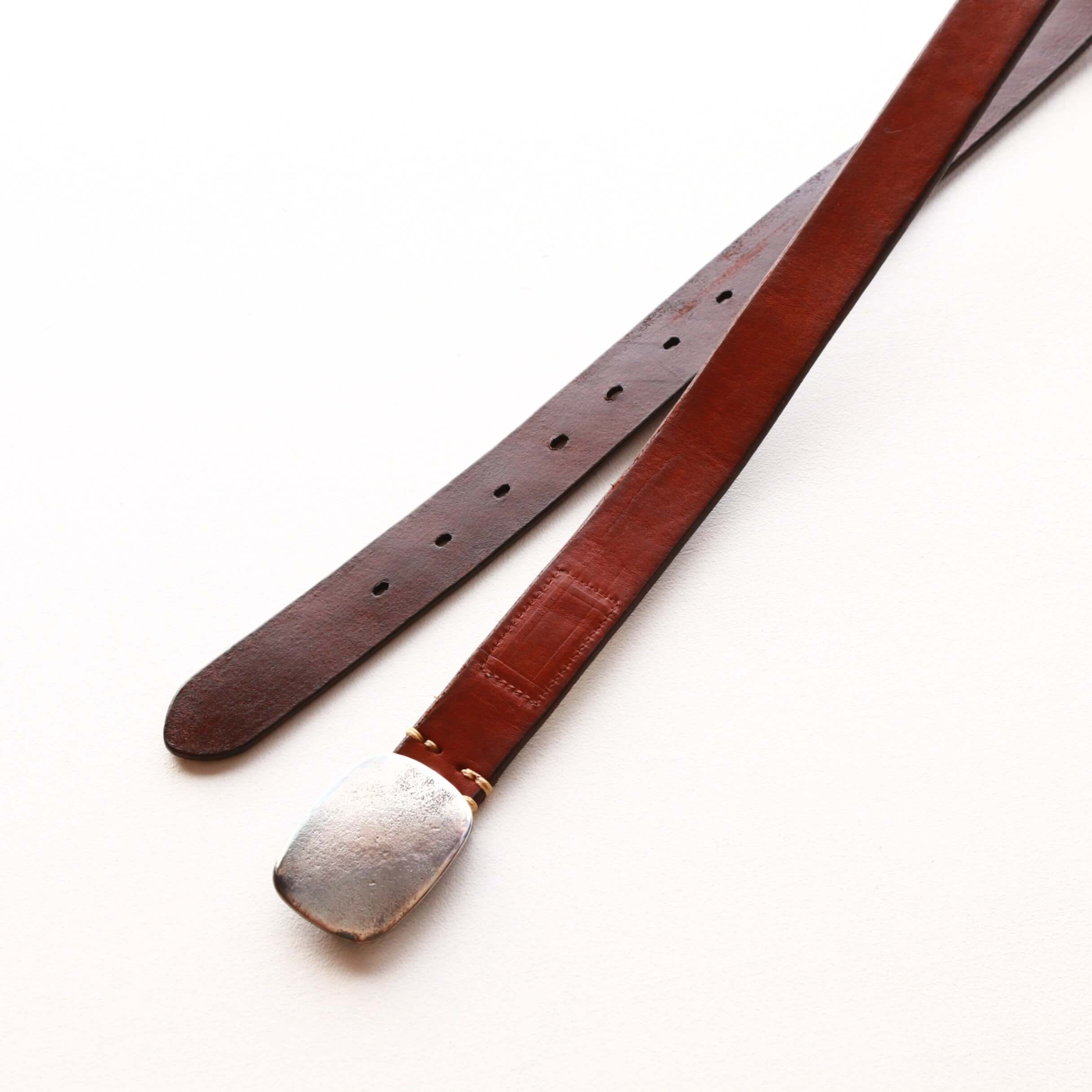 Vintage Works ヴィンテージワークス Leather belt レザーベルト DH5717