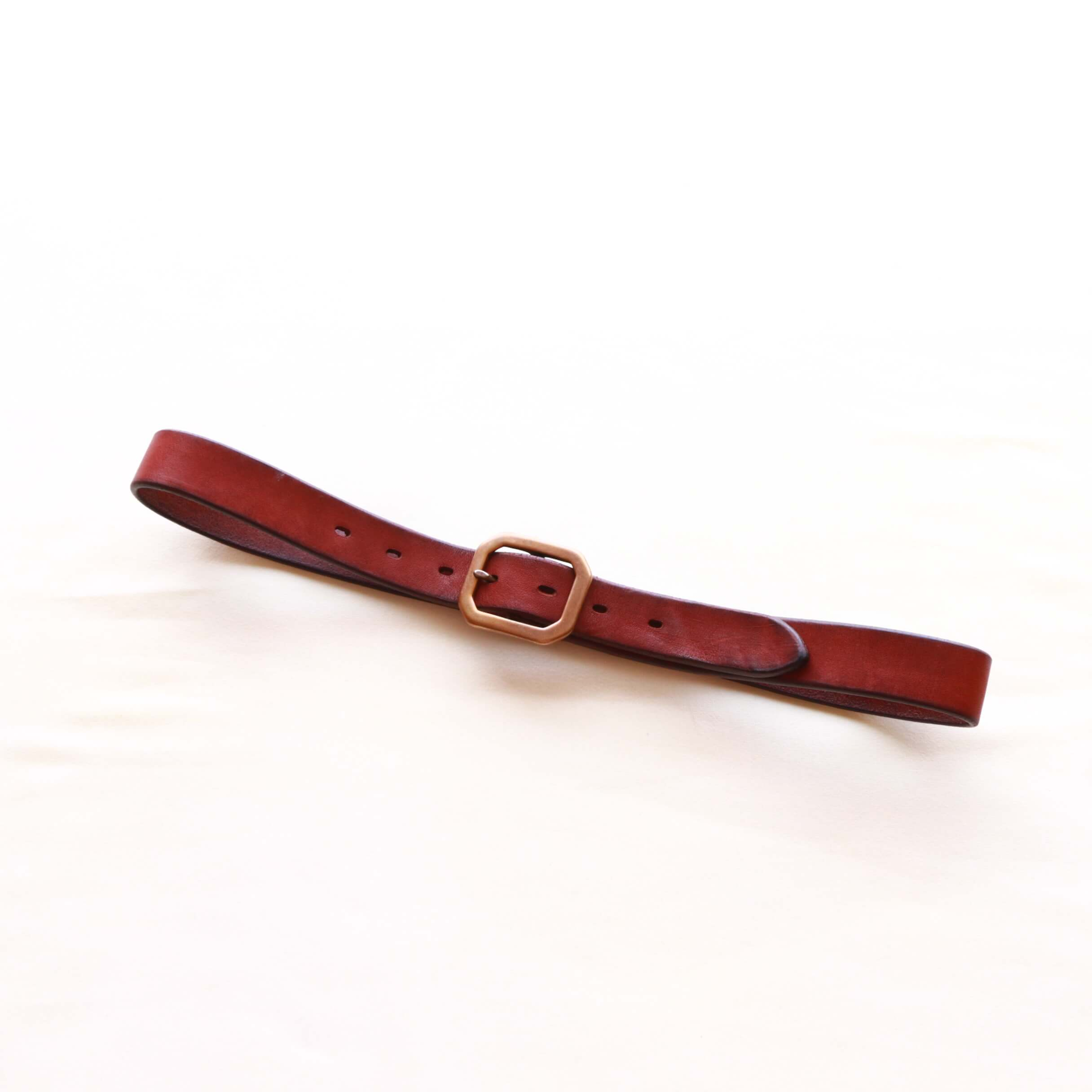 Vintage Works ヴィンテージワークス Leather belt 7Hole レザーベルト 7ホール DH5726