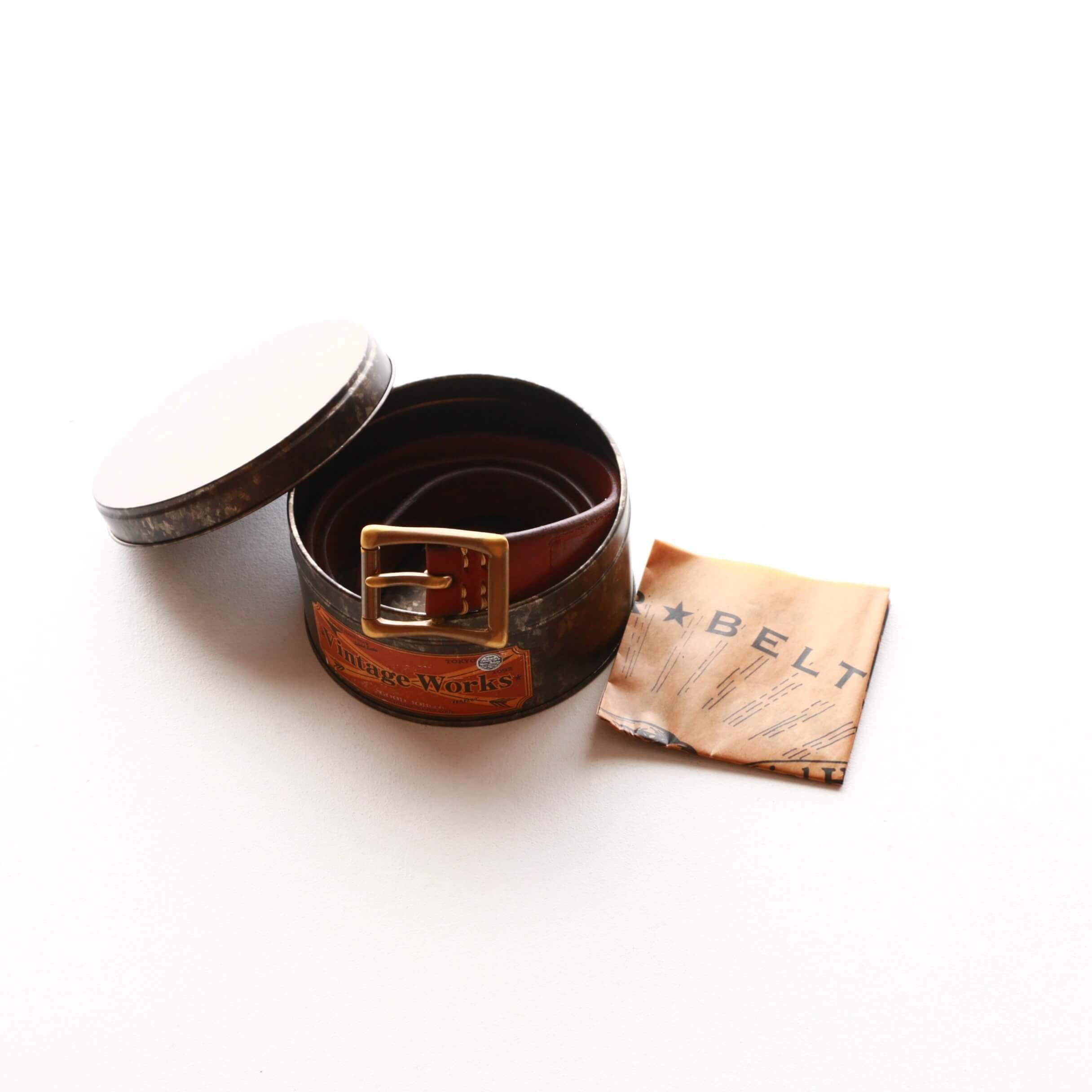 Vintage Works ヴィンテージワークス Leather belt レザーベルト フランネル DH5679