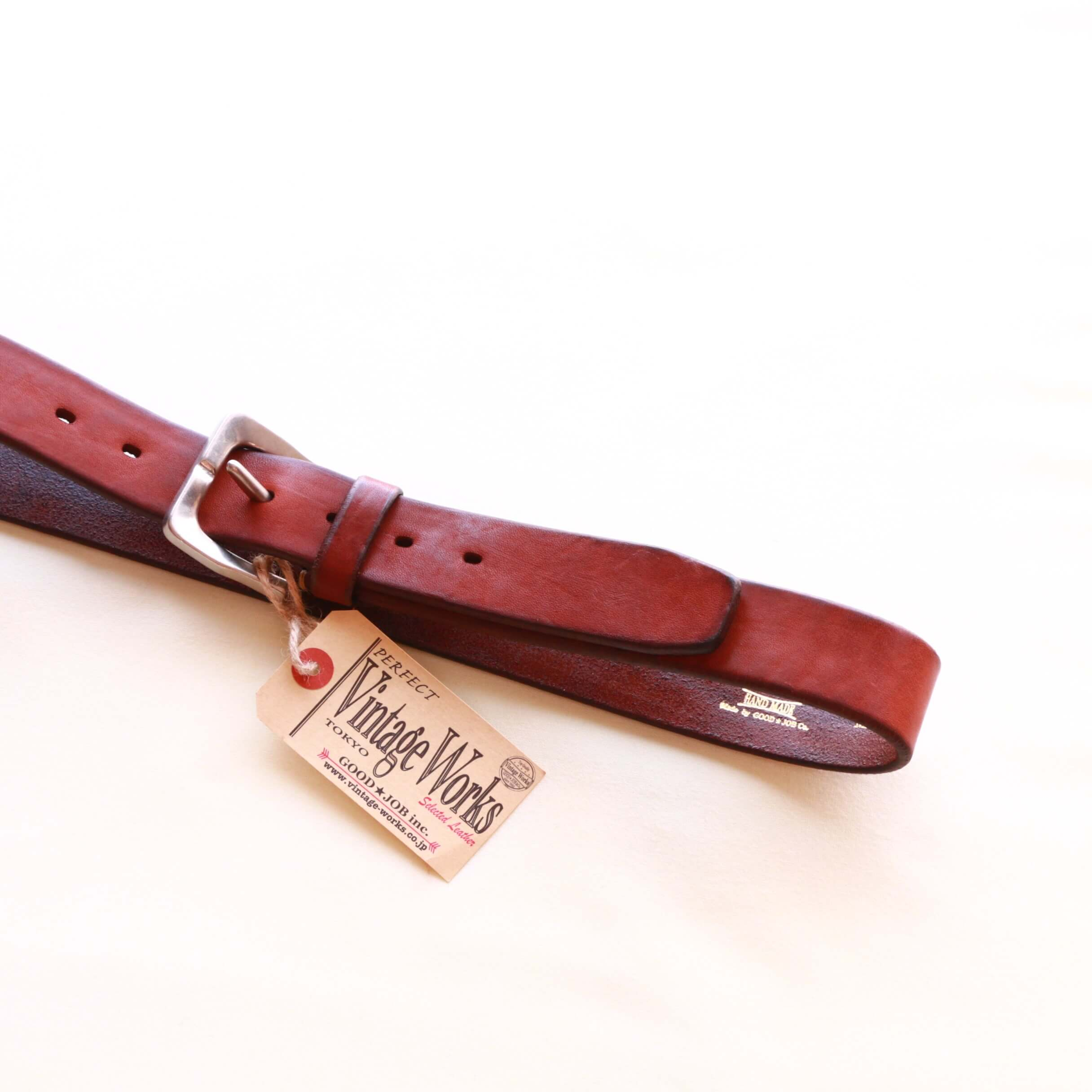 Vintage Works ヴィンテージワークス Leather belt レザーベルト DH5662