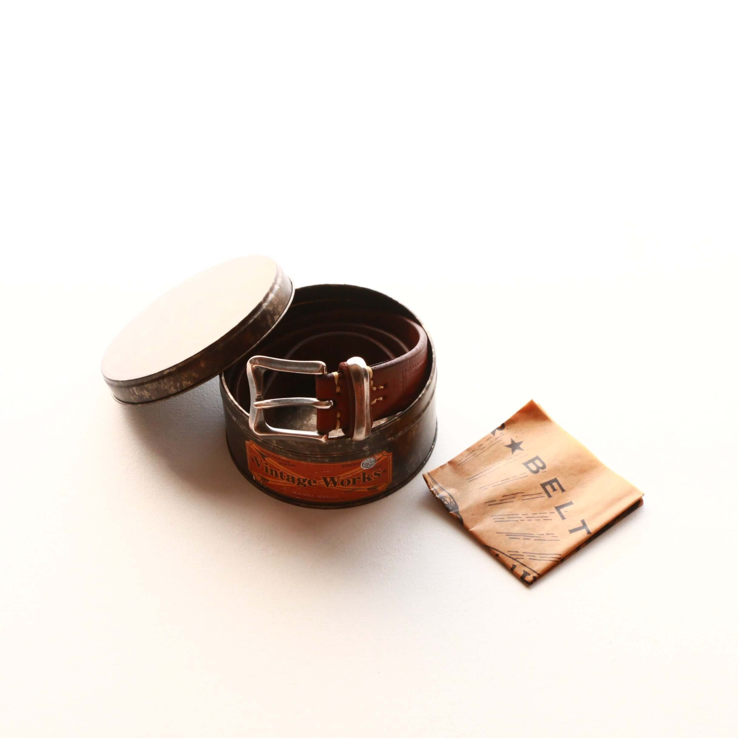 Vintage Works ヴィンテージワークス Leather belt 5Hole レザーベルト 5ホール DH5675