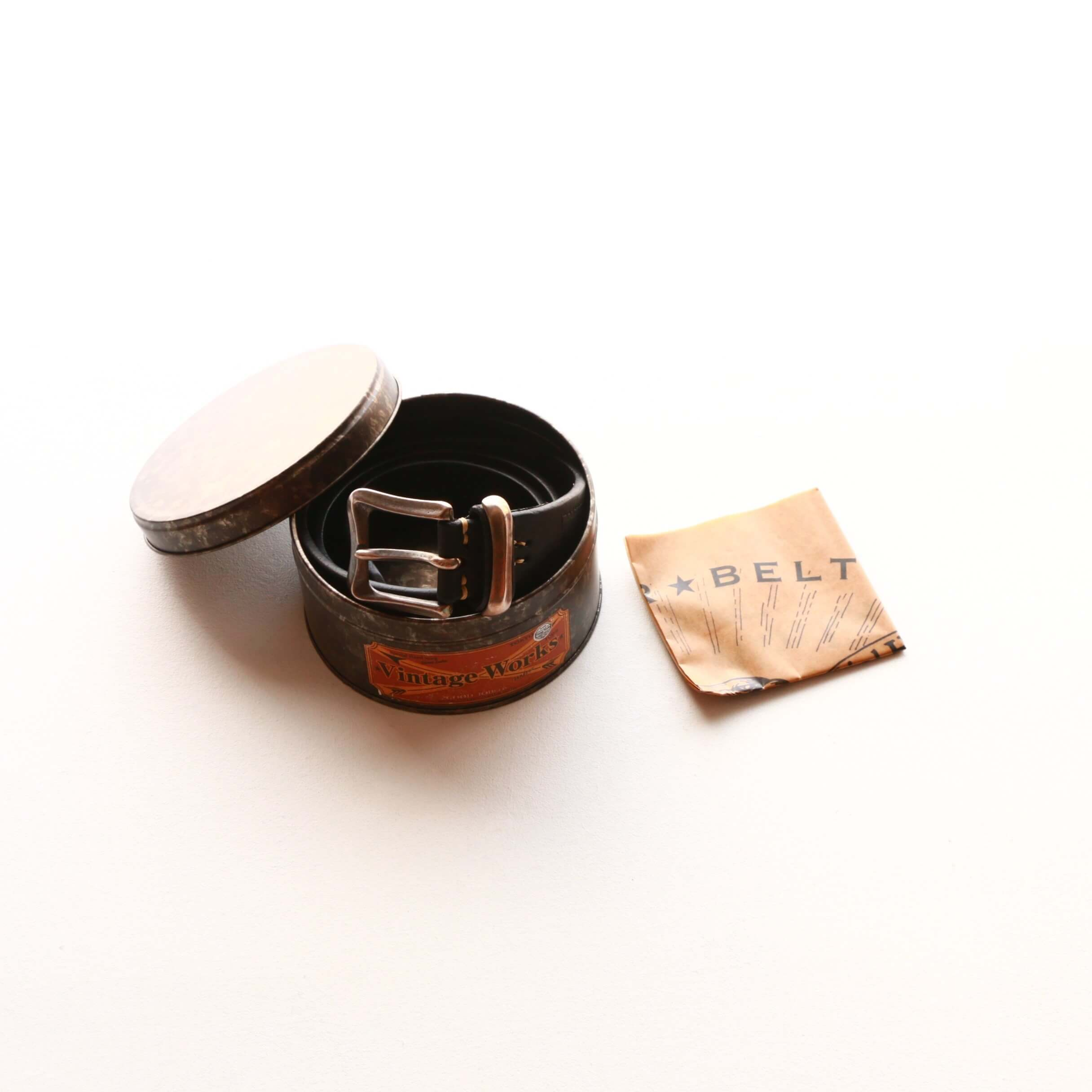 Vintage Works ヴィンテージワークス Leather belt 5Hole レザーベルト 5ホール DH5675