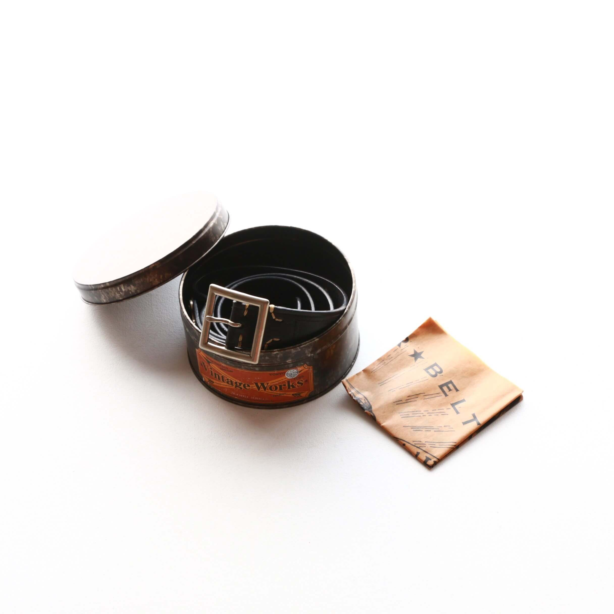Vintage Works ヴィンテージワークス Leather belt 5Hole レザーベルト 5ホール DH5698