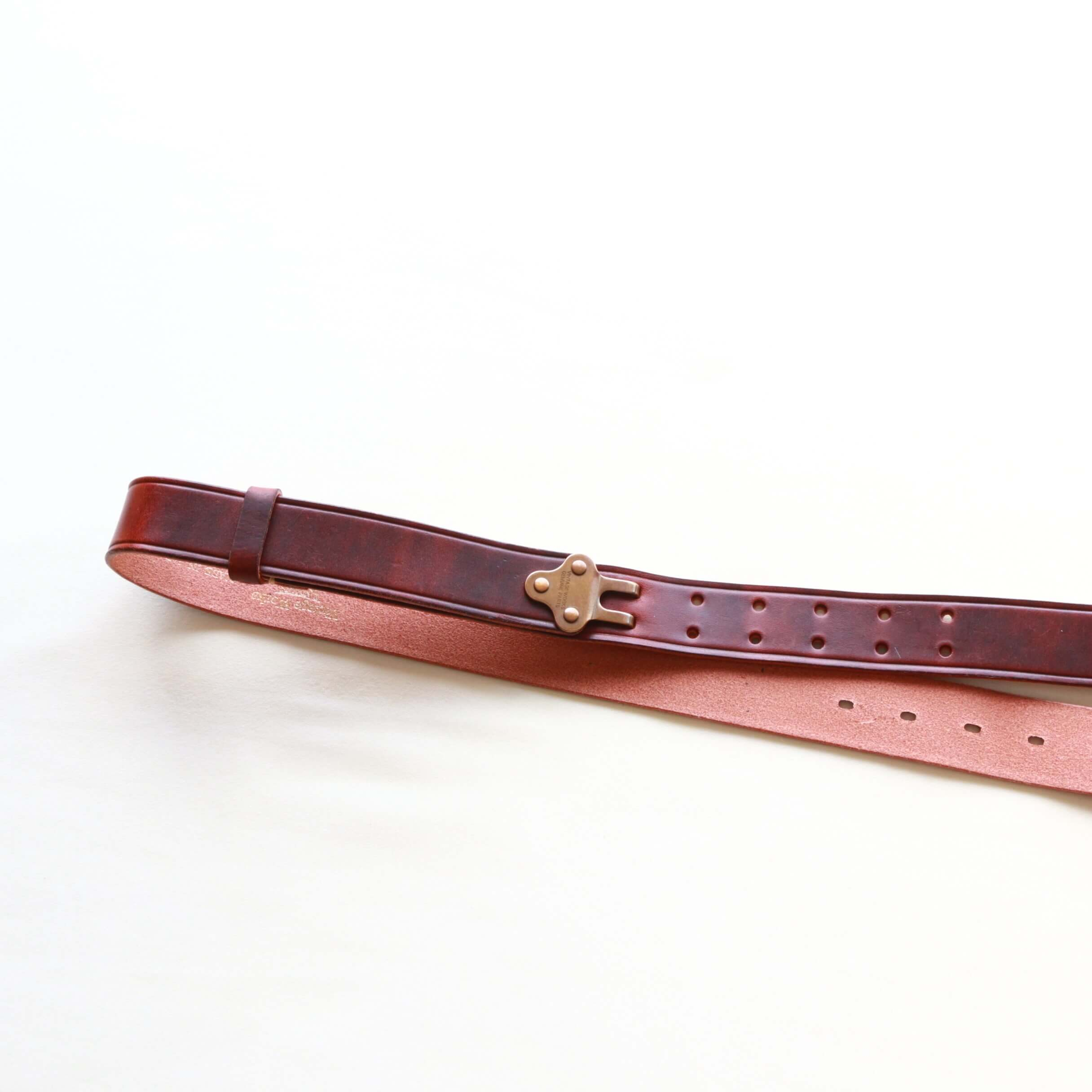 Vintage Works ヴィンテージワークス Leather belt 5Hole レザーベルト 5ホール DH5698