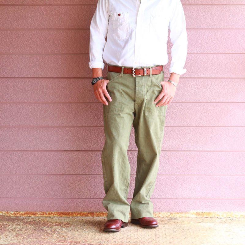 Buzz Rickson's バズリクソンズ HERRINGBONE U.S. MARINE COOP PANTS EARLY MODEL USMC ヘリンボーンパンツ 初期型
