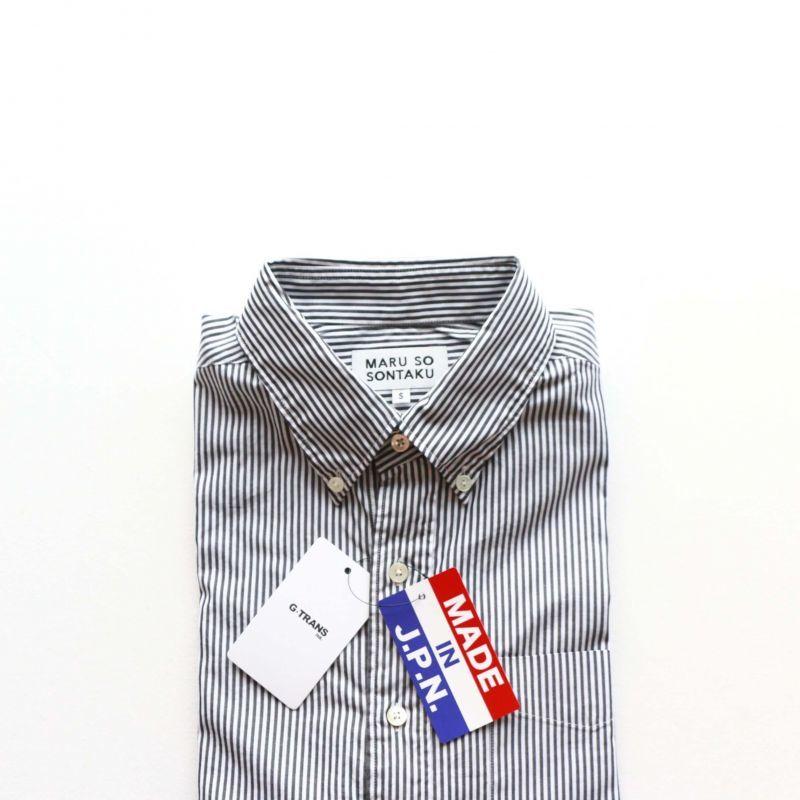 SONTAKU ソンタク Broad cloth BD Shirts ブロードクロスボタンダウンシャツ