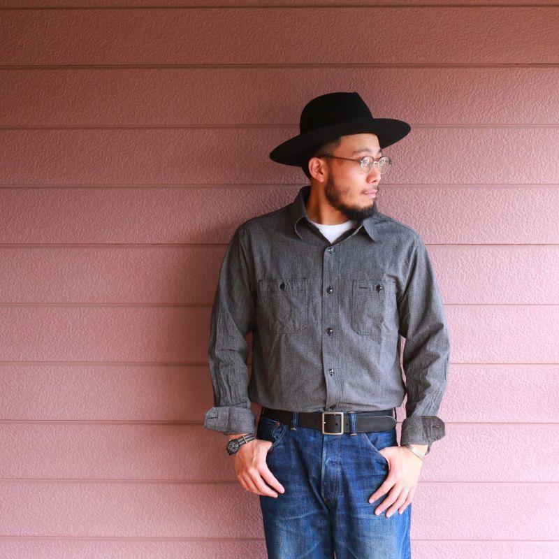 Vintage Works ヴィンテージワークス Leather belt 5Hole レザーベルト 5ホール DH5697