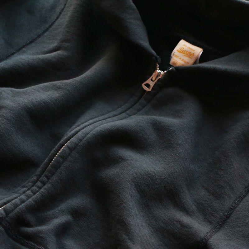 BARNS OUTFITTERS バーンズアウトフィッターズ TSURI-AMI L/S ZIP PARKA SWEAT 吊り編みスウェットジップパーカー