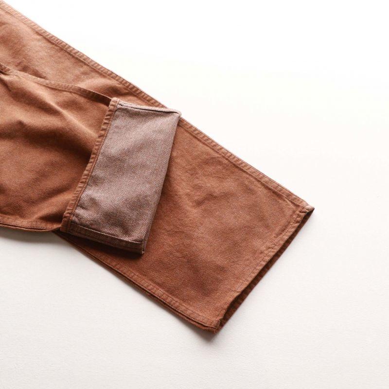 TCB jeans TCBジーンズ Wrecking Crew Pants 10oz TWISTED YARN BROWN DENIM レッキングクルーパンツ ブラウンデニム