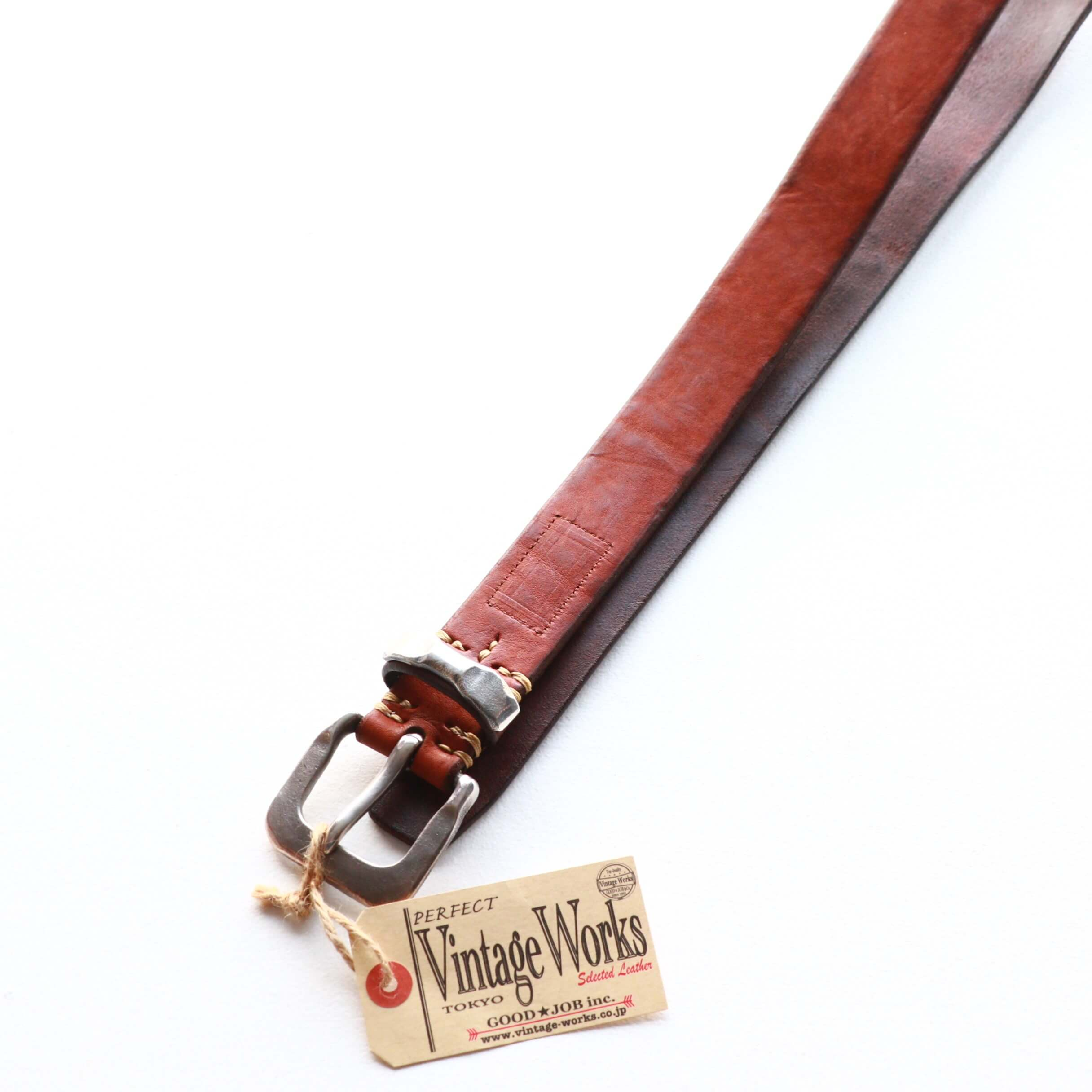 Vintage Works ヴィンテージワークス Leather belt 7Hole レザーベルト 7ホール DH5730
