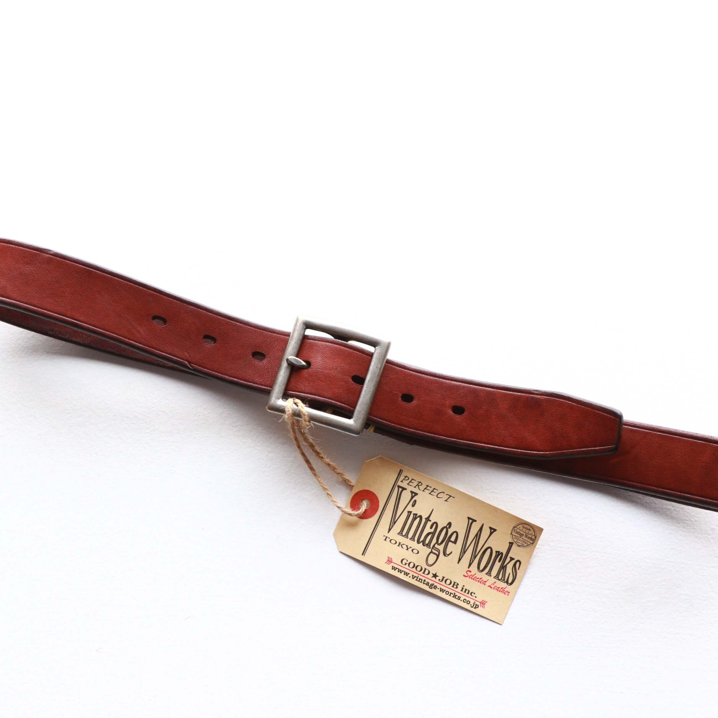 Vintage Works ヴィンテージワークス Leather belt 7Hole レザーベルト 7ホール DH5727