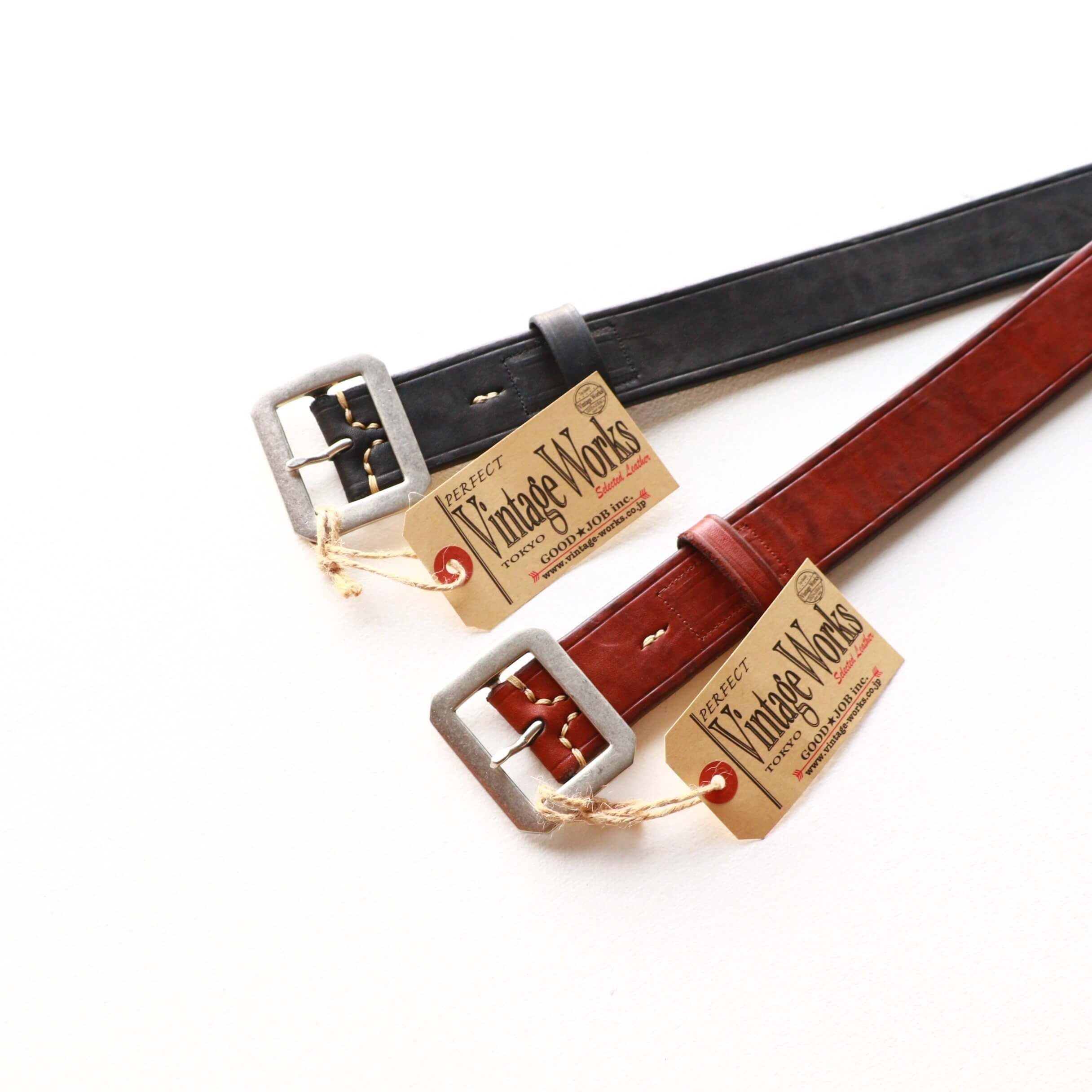 Vintage Works ヴィンテージワークス Leather belt 5Hole レザーベルト 5ホール DH5725