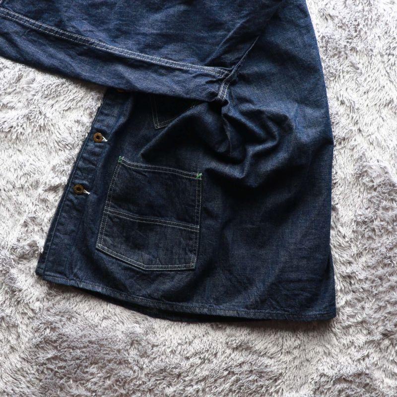 TCB jeans TCBジーンズ TCB BLACK CAT JK DENIM カバーオール デニム