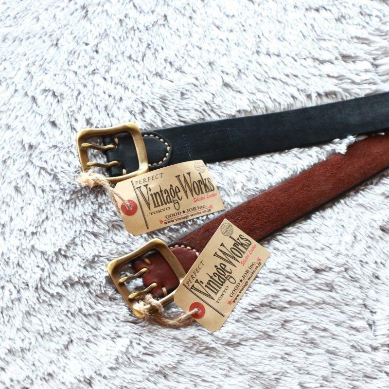 Vintage Works ヴィンテージワークス Leather belt 5Hole レザーベルト 5ホール DH5716