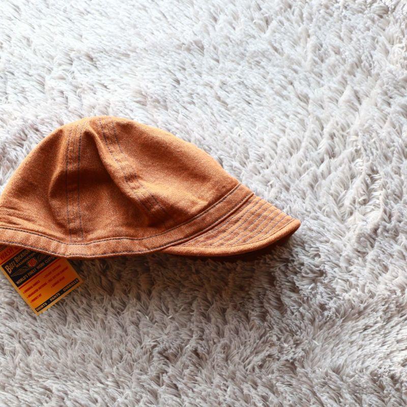 Buzz Rickson's バズリクソンズ BROWN DENIM ARMY CAP ブラウンデニムアーミーキャップ