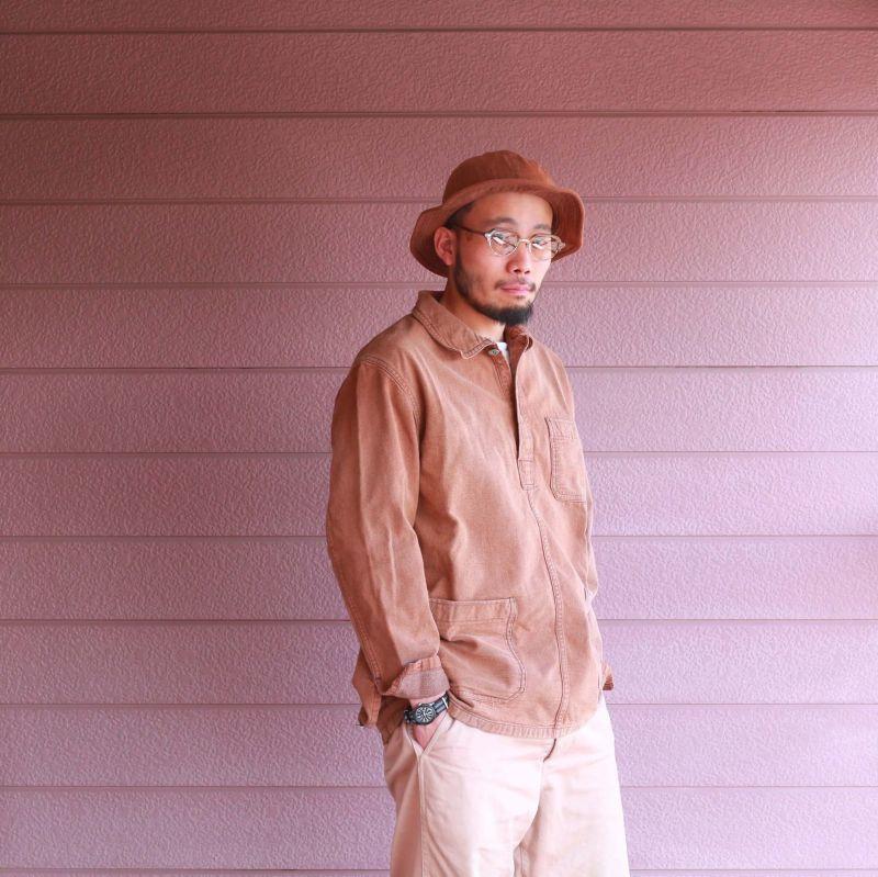 Buzz Rickson's バズリクソンズ HAT,WORKING BROWN ワーキングブラウンデニムハット