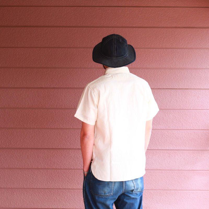 Buzz Rickson's バズリクソンズ WHITE CHAMBRAY S/S WORK SHIRT シャンブレーワークシャツ ホワイト