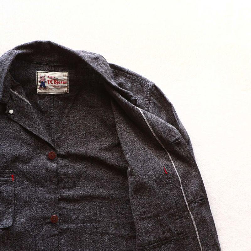 TCB jeans TCBジーンズ Tabby's Coat Black Chambray タビーズコート ブラックシャンブレー