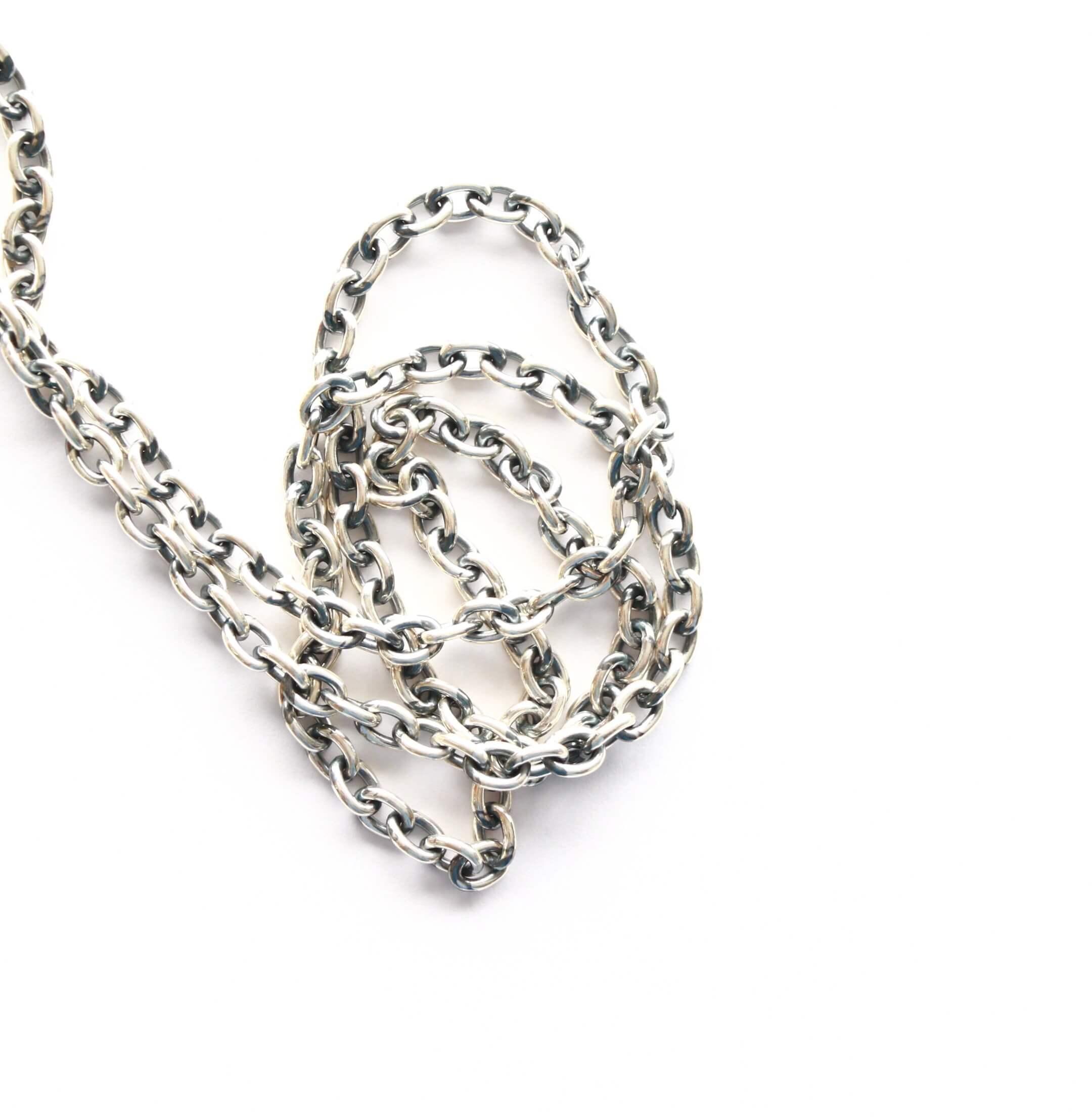 hemlock ヘムロック Silver Chain 太 60cm シルバーチェーン 太 60cm