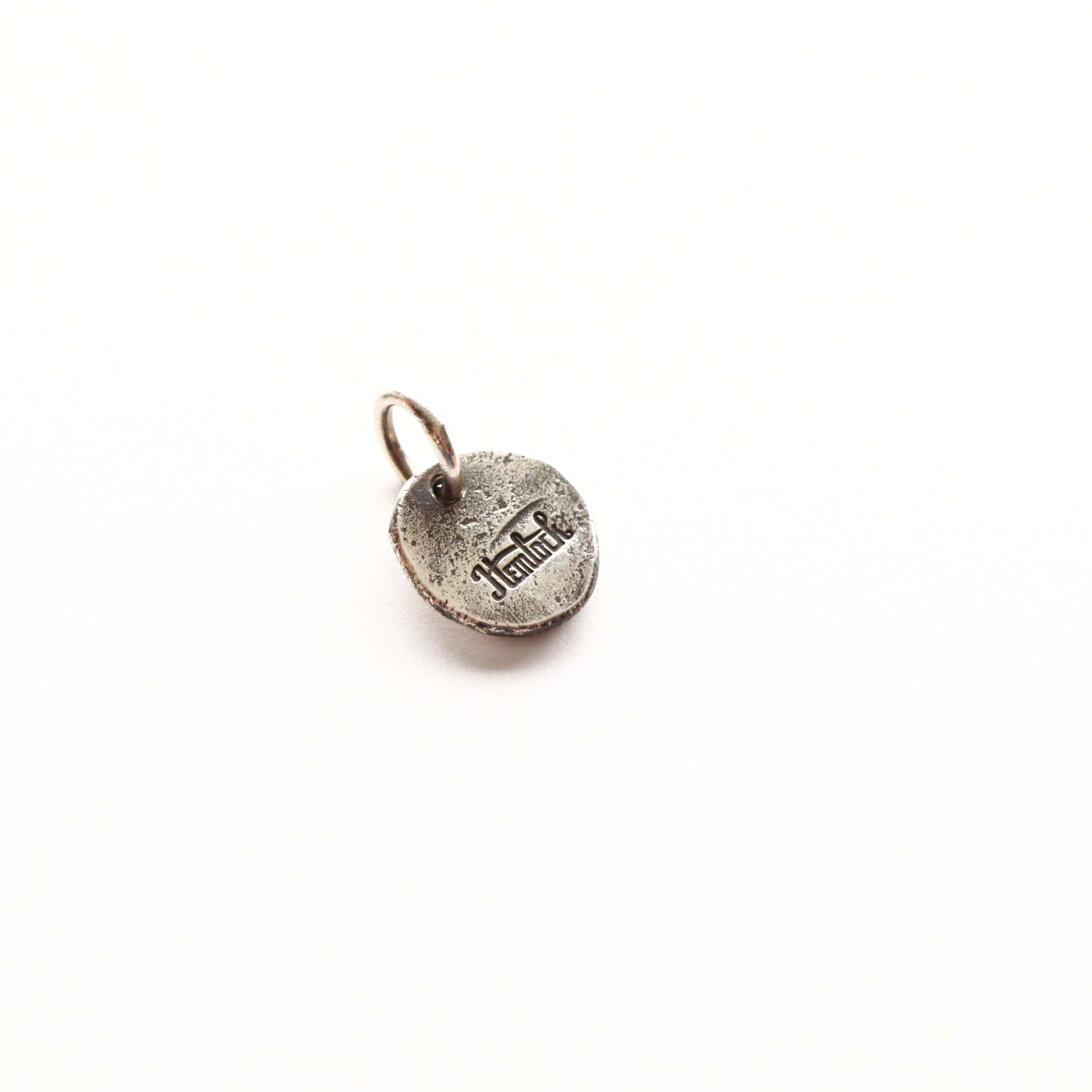 hemlock ヘムロック H circle logo metal ロゴ メタル トップ