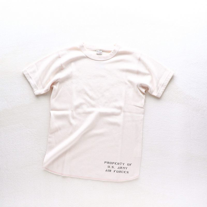 Buzz Rickson's バズリクソンズ THERMAL TEE US ARMY AIR FORCES サーマル プリントTEE ナチュラル