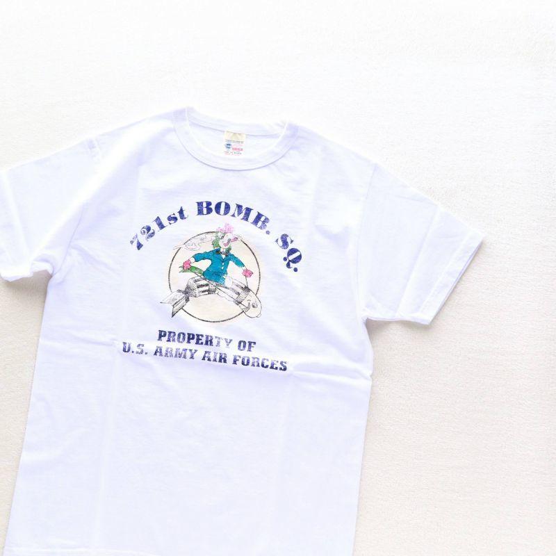 Buzz Rickson's バズリクソンズ S/S T-SHIRT 721st BOMB. SQ. プリントTシャツ