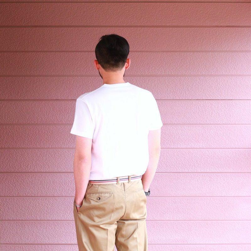 Buzz Rickson's バズリクソンズ SLUB YARN T-SHIRT U.S. MARINE CORPS スラブ プリントTシャツ ホワイト