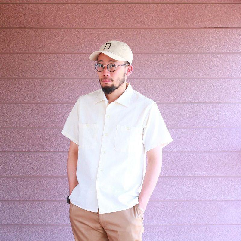Buzz Rickson's バズリクソンズ WHITE CHAMBRAY OPEN SHIRT シャンブレーオープンカラーシャツ ホワイト