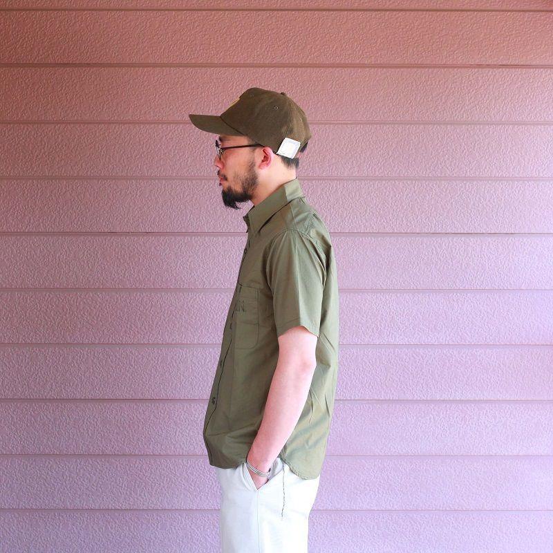 Buzz Rickson's バズリクソンズ UTILITY S/S SHIRTS N-3 ユーティリティー半袖シャツ オリーブ