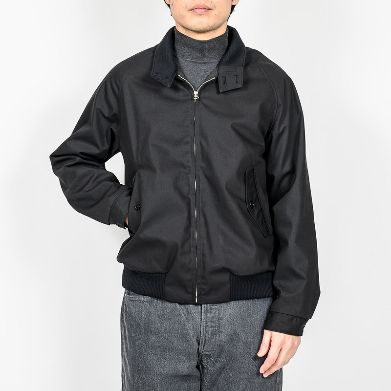 WORKERS ワーカーズ Harrington Jacket ハリトンジャケット Cotton Poly Gabardine Black