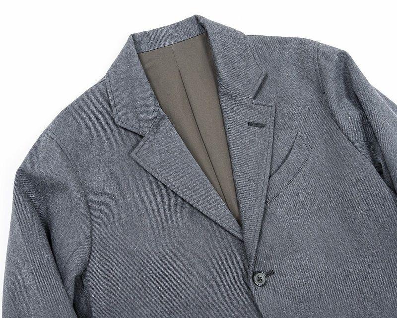 WORKERS ワーカーズ Moonglow Jacket ムーングロージャケット Grey Herringbone Tweed