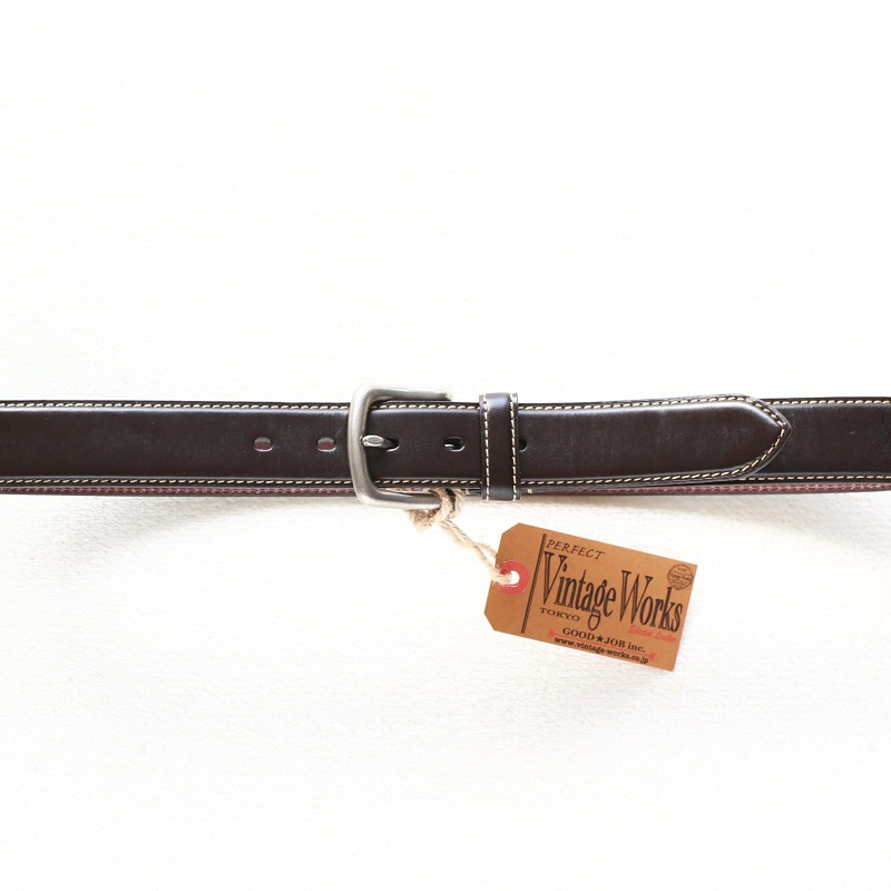 Vintage Works ヴィンテージワークス Leather belt 5Hole 5ホール レザーベルト DH5689