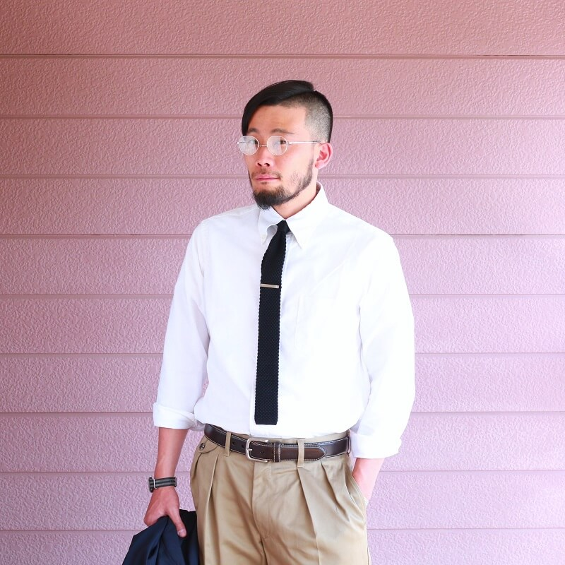 WORKERS ワーカーズ Silk Knit Tie シルクニットタイ