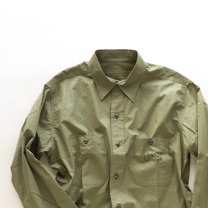 Buzz Rickson's バズリクソンズ UTILITY SHIRTS N-3 ユーティリティシャツ N-3 オリーブ