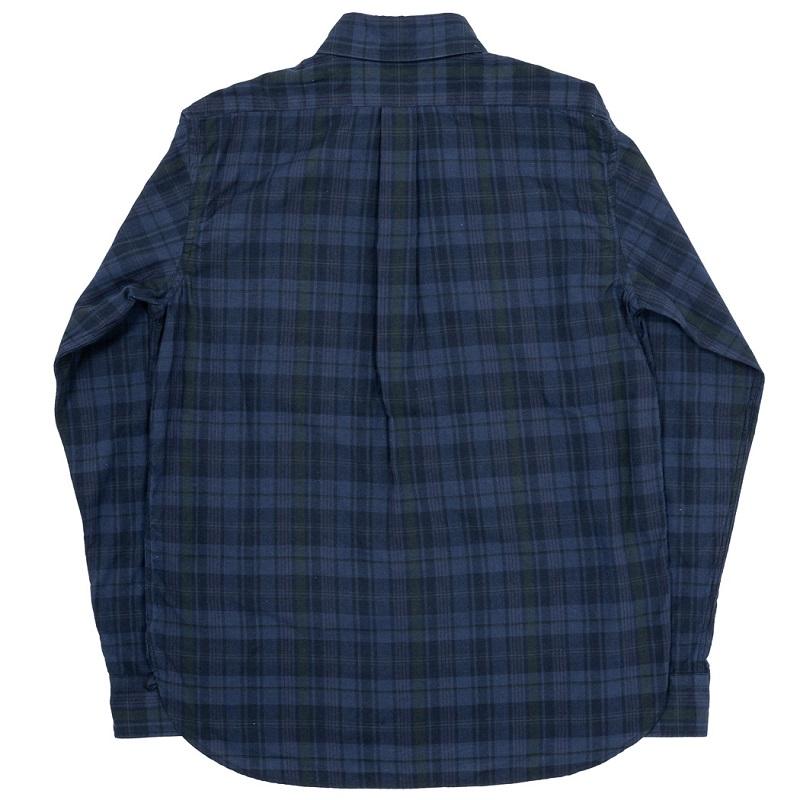 WORKERS ワーカーズ Pullover BD プルオーバーボタンダウンシャツ Dark Madras