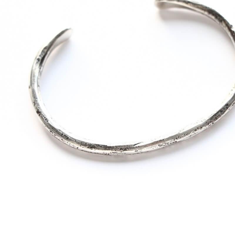 hemlock ヘムロック RB Forged bangle -silver シルバーバングル