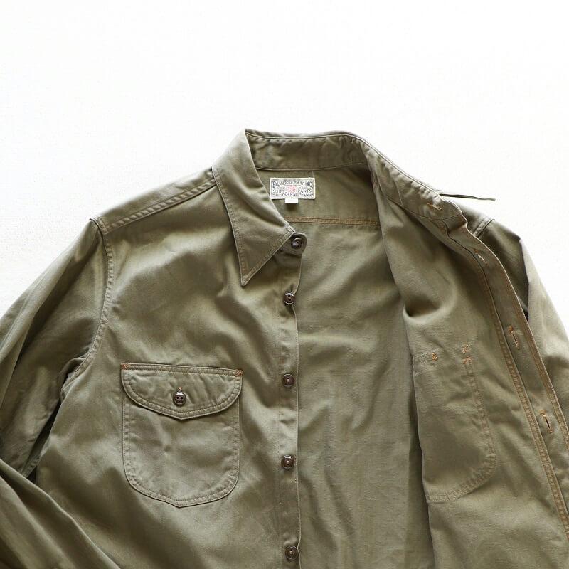 Buzz Rickson's バズリクソンズ HERRINGBONE WORK SHIRT ヘリンボーン ワークシャツ