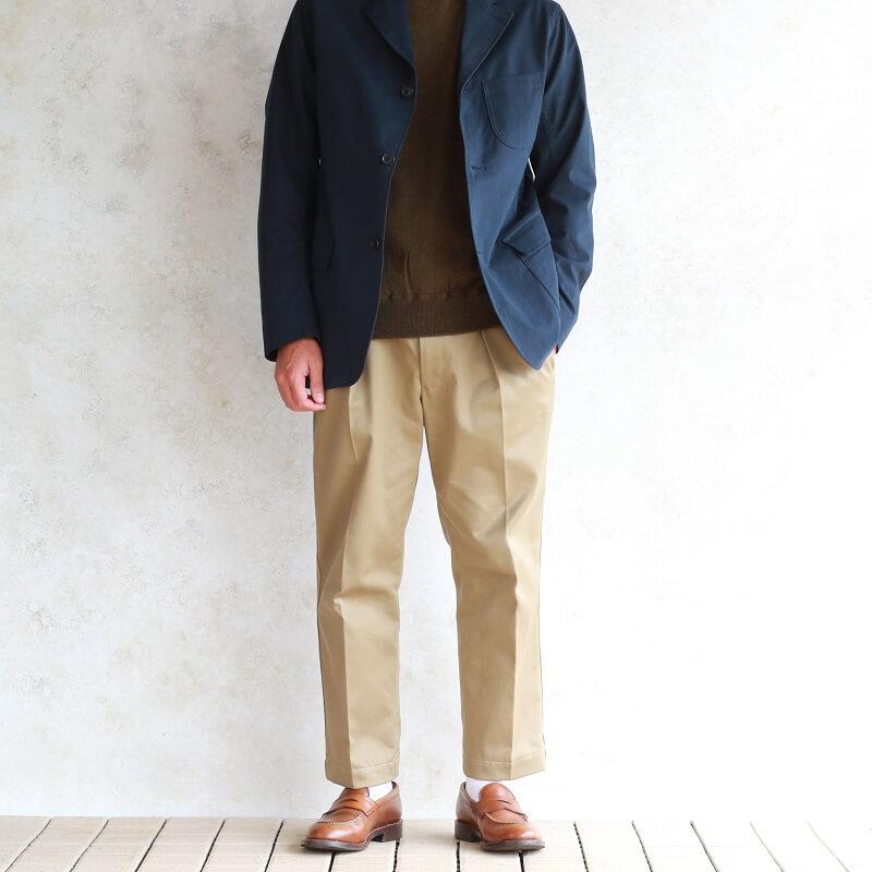 WORKERS ワーカーズ FC High Gauge Knit, Mock FCハイゲージニット モック