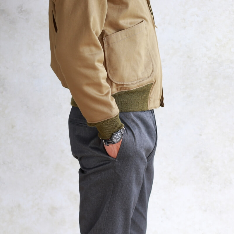 Buzz Rickson's バズリクソンズ Tank Patch Pocket BUZZ RICKSON'S CO, INC. タンカースジャケット