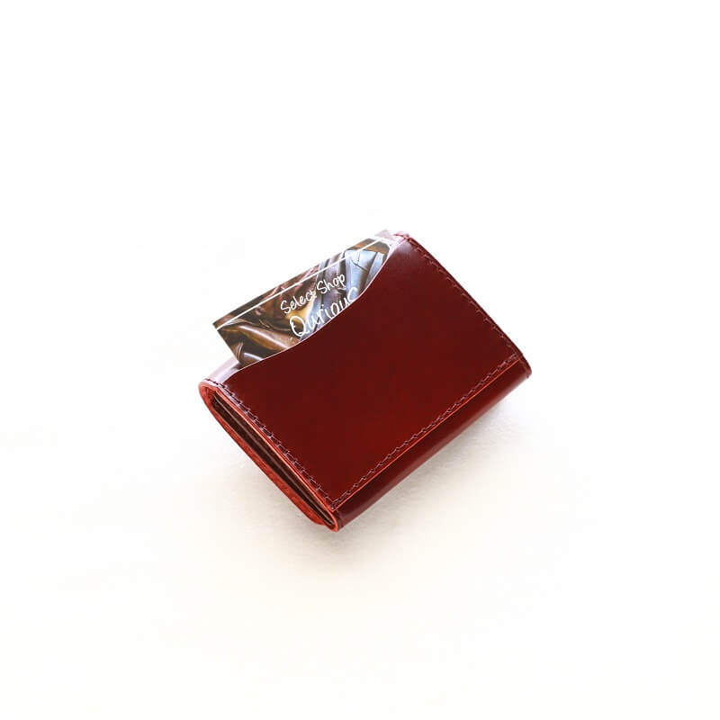 BARNS OUTFITTERS バーンズアウトフィッターズ Cordovan Compact Wallet コードバン コンパクト ウォレット