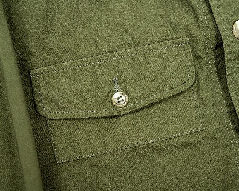 WORKERS ワーカーズ W&G Jacket W&Gジャケット 40/2 High Density Poplin, Beige