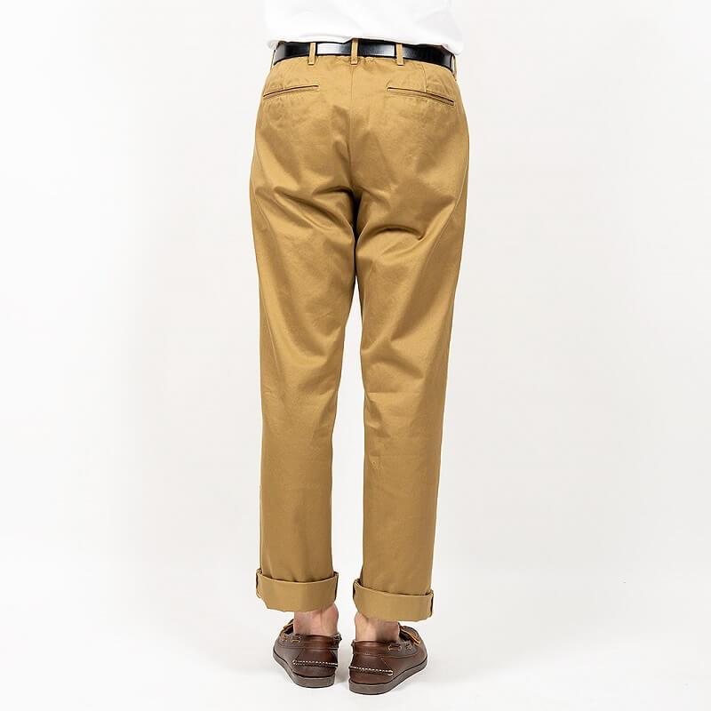 WORKERS ワーカーズ Officer Trousers, Standard, Type 1 オフィサートラウザースタンダード タイプ1 USMC Khaki