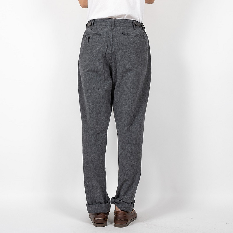 WORKERS ワーカーズ FWP Trousers FWPトラウザー Black Chambray