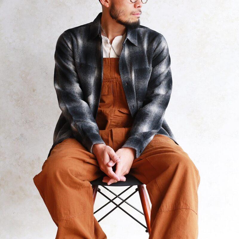 FINE CREEK CWORKS ファインクリーク シーワークス Jaime ウールワークシャツ