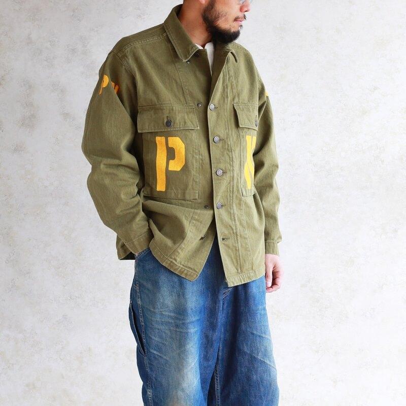 Buzz Rickson's バズリクソンズ JACKETS,HERRINGBONE TWILL SPECIAL TYPE M-43 PW HBTジャケット