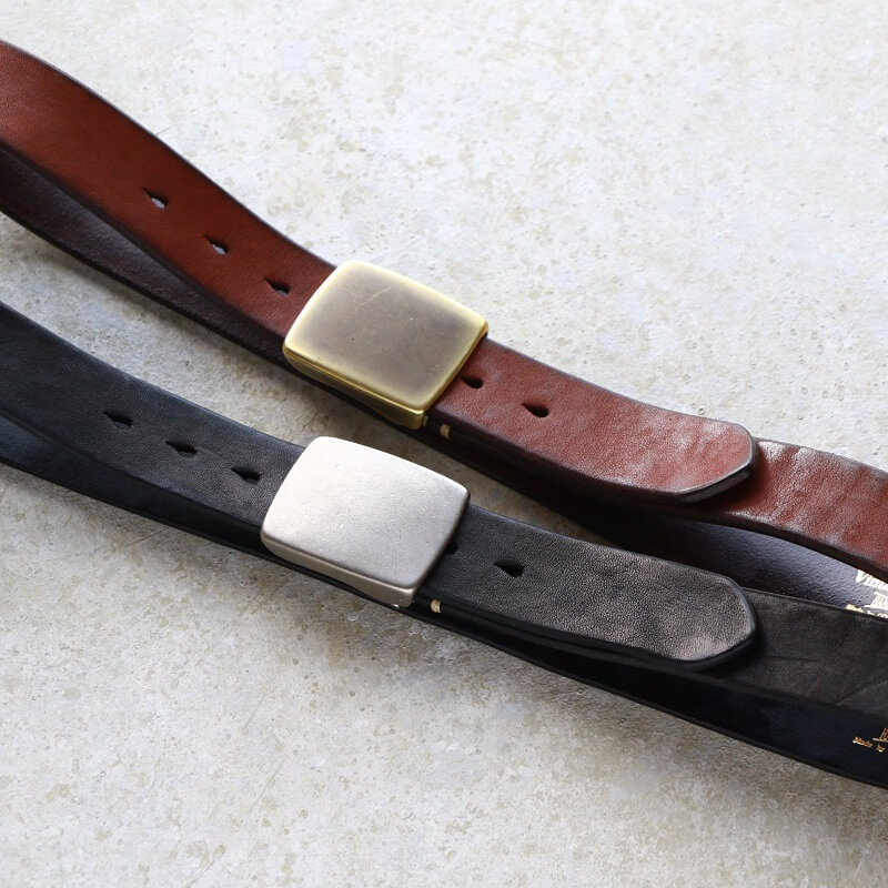 Vintage Works ヴィンテージワークス Leather belt 7Hole レザーベルト 7ホール DH5524
