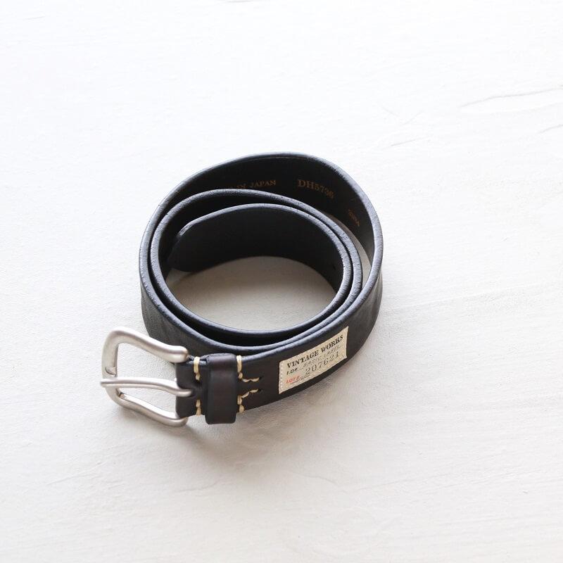 Vintage Works ヴィンテージワークス Leather belt 5Hole レザーベルト 5ホール DH5736