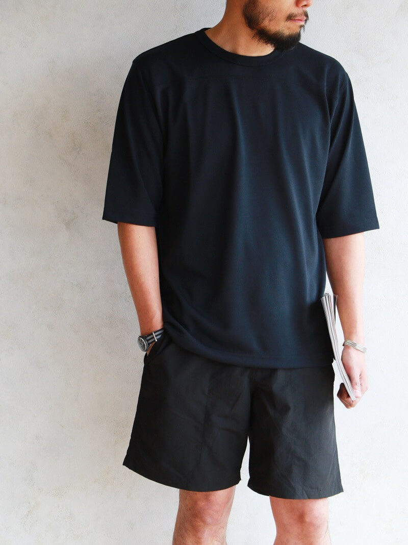 FINE CREEK MOSSIR ファインクリーク モシール Thomas フットボールTシャツ MOCU004